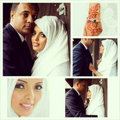 Eritrean-Swedish Muslim Wedding! This couple has...