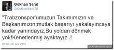 Trabzonspor Yöneticisi Destek Verdi