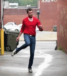 we're approaching west side story levels of dancing-as-street-fighting and i'm cool with it