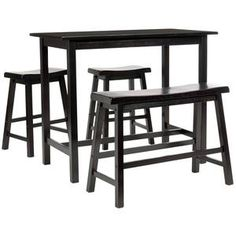 Ronin 4 Piece Pub Set Brown, now featured on Fab.