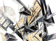 2015학년도 건국대 합격생 재현작 및 재안작[건국대 기초디자인 No.1엔진미술학원, 사고의전환, 발상과 표현]