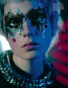 Dazzling Discotheque-Inspired Editorials - The i-D Mag Spring 2014 Issue is Blinged Out (GALLERY)