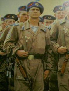 Soviet VDV (Airborne) Infantry Regiment During Inspection