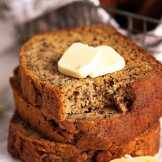 The Best Grilled Cheese Sandwich - Spend With Pennies Homemade Banana Bread, Banana Bread Recipes, Homemade Lasagna, Muffin Recipes, Baking Recipes, All You Need Is, Spend With Pennies, Stuffed Mushrooms, Stuffed Peppers