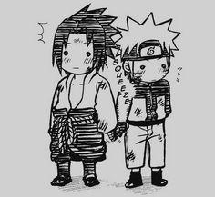 <3 <3 <3 Sasuke and Naruto #SasuNaru #NaruSasu