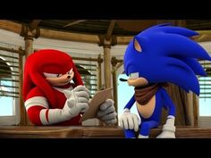 "Sonic Boom - TV Series Trailer E3 2014. ""No Knuckles..."" XD"