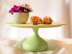 3. Vintage Tortenplatten - Tortenplatte in zartem Grün - ein Designerstück von Sweet-Table-Art bei DaWanda