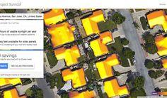 Google mapeia potencial de telhados para gerar energia solar