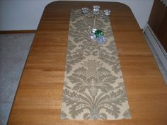 Grand Gold Runner 16 x 54 by DressYourTable on Etsy