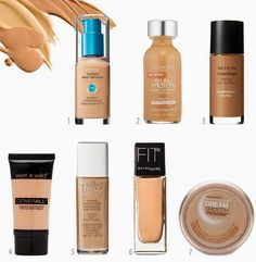 Charnel's World: 5 Tips for Finding Your Drugstore Foundation