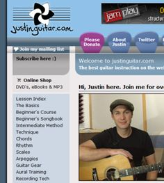 Free Online Guitar Lessons - Freely Educate