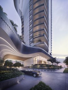 AS+GG Architecture to Design Yacht-Inspired Tower in Miami,Courtesy of AS+GG