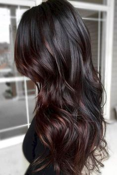 Love this color and cut...hummm. when i see all these fall hair color for brunettes balayage brown caramel it always makes me jealous i wish i could do something like that I absolutely love this fall hair color for brunettes balayage brown caramel so pretty! Perfect!!!!!