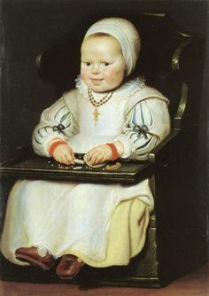 """1627, """"Susanna de Vos"""" by Cornelis de Vos.t This is adorable!"""