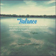 #Confucious #Balance