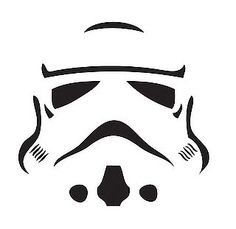 Pumpkin stencil.  Will be awesome since Mac and Jared have the Star Wars theme going on this year!