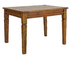 Tavolo in acacia indiana fin.rustica Chateaux, 90x76x90 cm-249,00