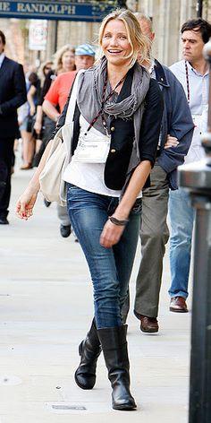 Ella Pretty: Style Crush: Cameron Diaz in denim