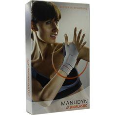 MANUDYN Handgelenkbandage links Grösse M schw.-col:   Packungsinhalt: 1 St Bandage PZN: 06727217 Hersteller: SPORLASTIC GmbH Preis: 46,87…