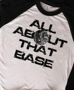Black and White Unisex Raglan Tshirt, All About That Base Softball Shirt, Graphic Baseball Shirt, Raglan Shirt for Teens Juniors Men Women  This