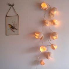 felted lights
