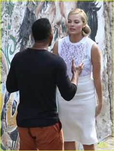 will smith margot robbie focus filming in argentina 04. Going to try to do my hair like this for work tomorrow.....
