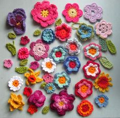 These are crocheted but I love them just the same!