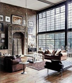 Going for these interior design loft style ideas may very well be the best living style for you, and you do not know it yet Home Interior, Interior Architecture, Interior Decorating, Interior Design, Interior Detailing, Decorating Ideas, Antique Interior, Apartment Interior, Scandinavian Interior