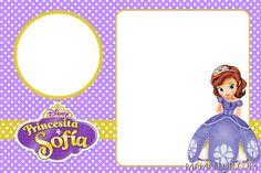 Princess Sofia Invitations, Princess Sofia Birthday, Sofia The First Birthday Party, Disney Invitations, Custom Birthday Invitations, Sofia The First Characters, Birthday Tarpaulin Design, First Birthdays, Cards