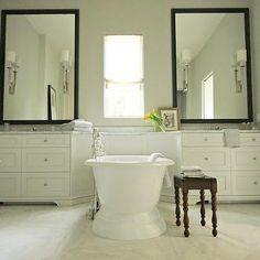 Modern Country Bathrooms, Country, bathroom, Elle Scrase