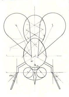 Para despedirnos de la Geometría plana los alumnos de 1º de Bachillerato están realizando este curioso diseño formado principalmente por u...