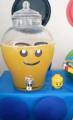 Liam's 7th birthday LEGO bash! | CatchMyParty.com