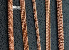 Wire wrap, Vikinq Knit украшения из проволоки.