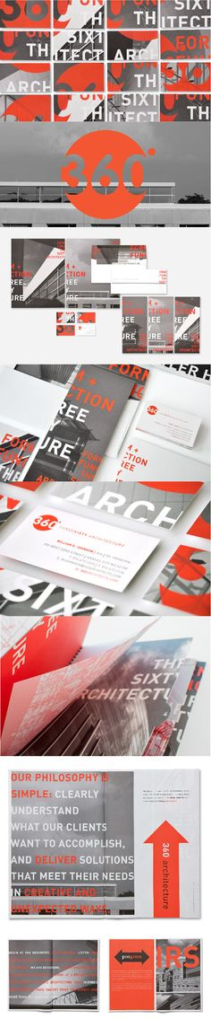 360 Architecture | Branding, Business Collateral, Design, Marketing Materials, Name, Video | Design Ranch