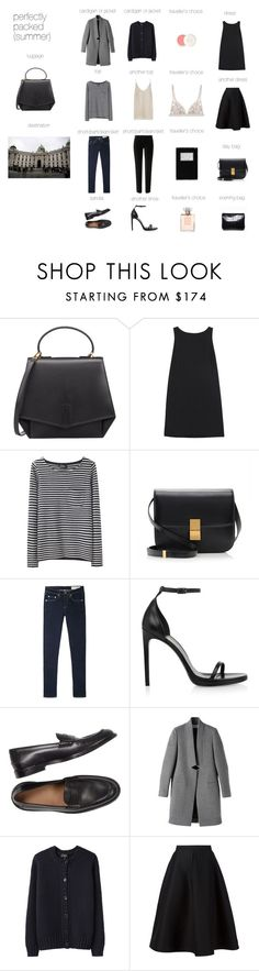 """Perfectly Packed: Vienna"" by antepono ❤ liked on Polyvore featuring moda, Byredo, RED Valentino, A.P.C., Garance Doré, CÉLINE, rag & bone/JEAN, Chanel, Yves Saint Laurent i STELLA McCARTNEY"