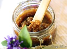 The PERFECT Sugar Scrub Recipe for DRY Skin