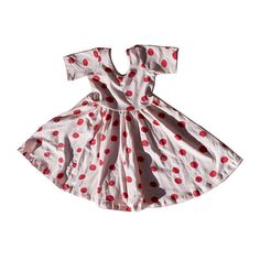 Image of The Ballet dress in blush dot -- only a few left!