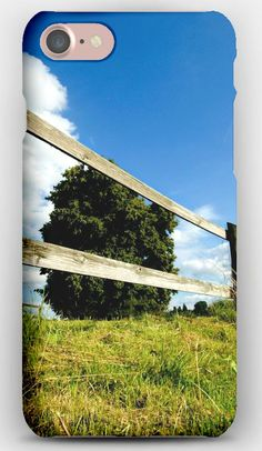 iPhone 7 Case Tree, Fence, Boards, Summer