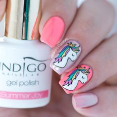 Cute Unicorn Nails