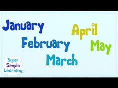 Months of the Year from Simple Songs.