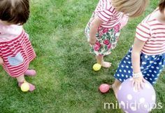 Ballonspiele Ideen zum Kindergeburtstag