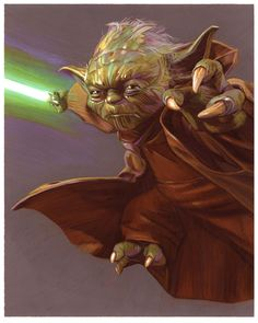 Yoda by Tommy Lee Edwards