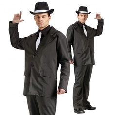 Classic Gangster 1920 Costume