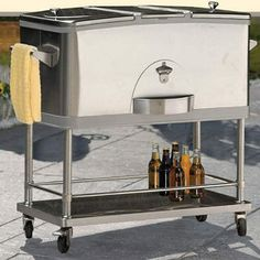 Stainless Steel Cooler  100 Qt.