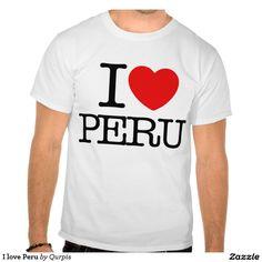 Amo Perú Camisetas