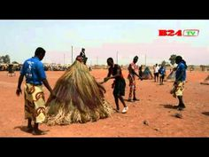 FESTIMA : Les mystérieux masques du Bénin - YouTube