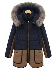 Syktkmx Women's Casual Long Sleeve Lapel Outwear Coat Cardigan (Large, Navy)