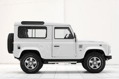 Land Rover Defender 90 Startech edition.