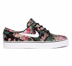 f859e19da842 Nike SB Stefan Janoski Premium (Digital Floral-Camo) HMM mimimi Floral  Print Shoes