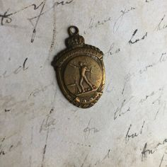 1926 antique sports medal for repurpose Sports Medals, Repurposed, Unique Jewelry, Handmade Gifts, Email Marketing, Etsy, Accessories, Fairy, Kid Craft Gifts